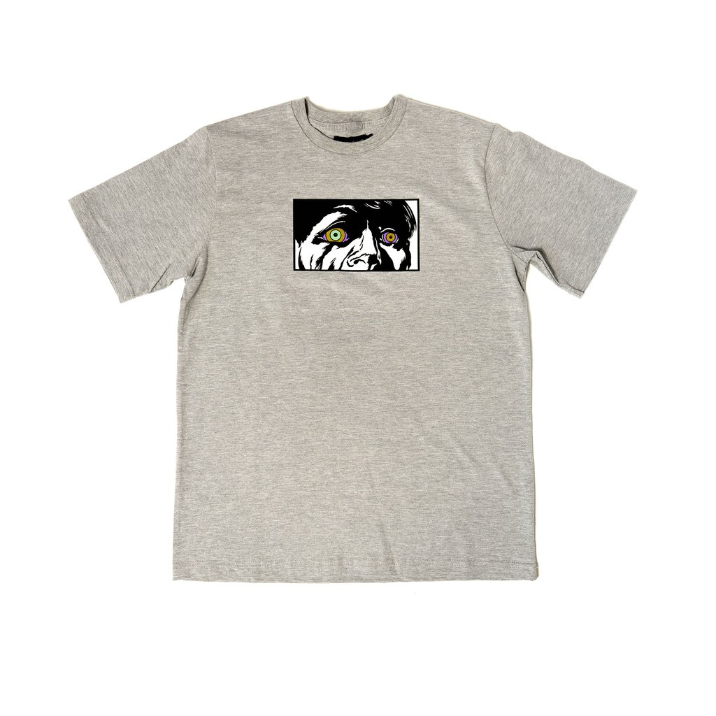 【RAISED BY WOLVES/レイズドバイウルブス】JUNGLE MADNESS TEE Tシャツ / GREY