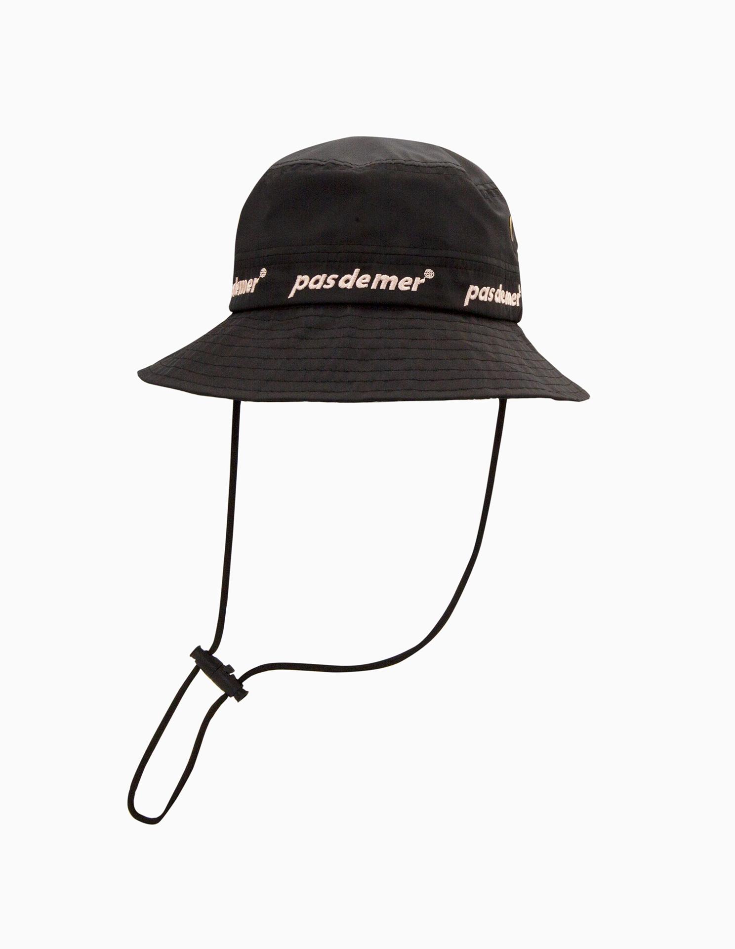 【PAS DE MER/パドゥメ】SUBURB BUCKET HAT キャップ / BLACK