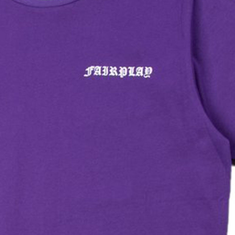 【FAIRPLAY BRAND/フェアプレイブランド】ISIDORE カットソーTシャツ / PURPLE