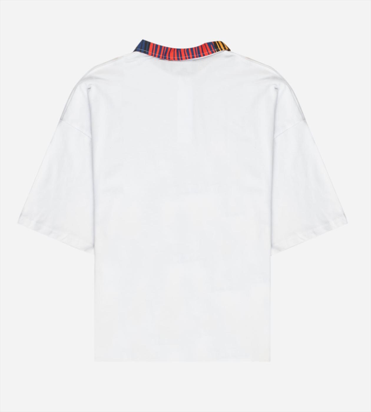 【PAS DE MER/パドゥメ】TIGER OVERSIZE POLO  ポロシャツ / WHITE