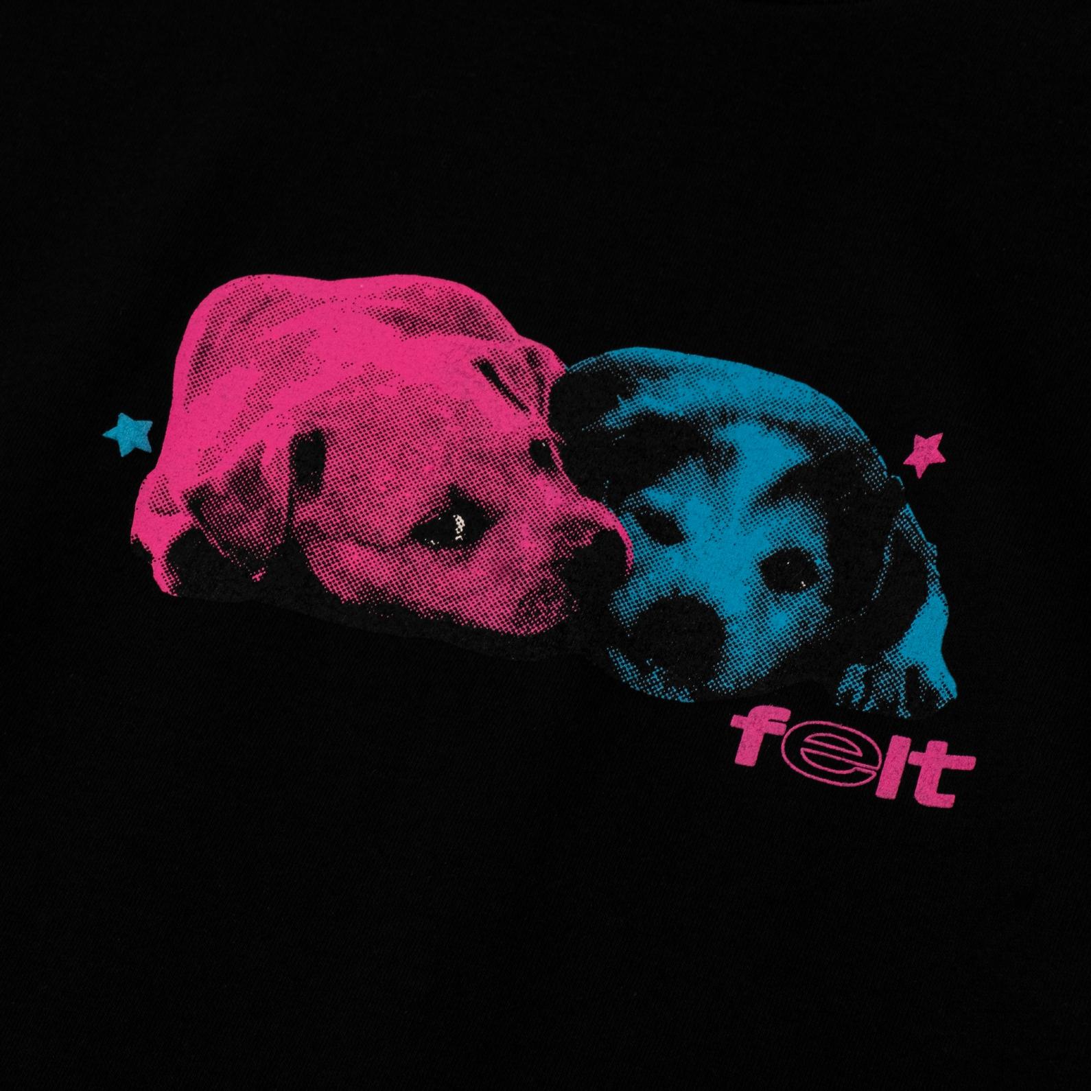 【FELT/フェルト】GOOD BOYS T-SHIRT Tシャツ / BLACK