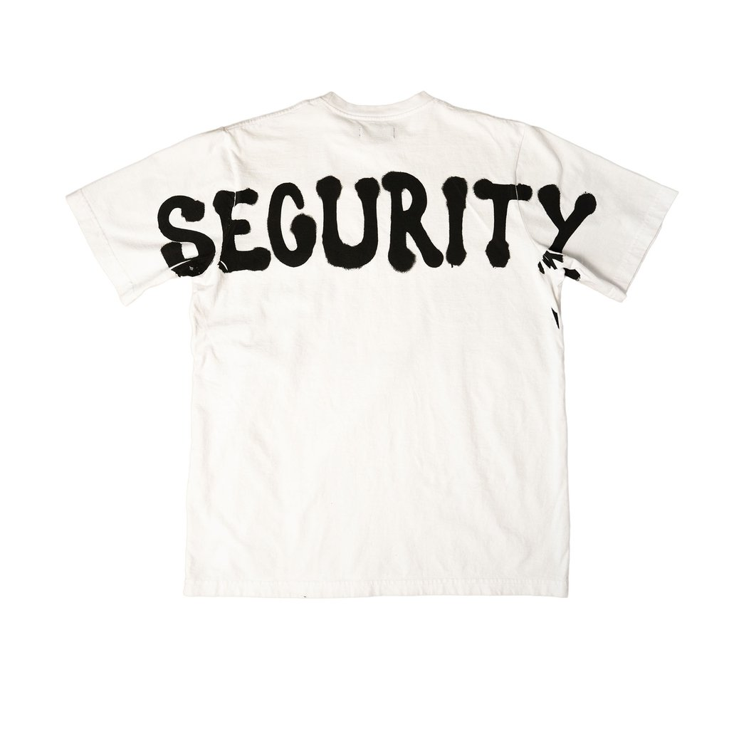 【RAISED BY WOLVES/レイズドバイウルブス】SECURITY TEE Tシャツ / WHITE
