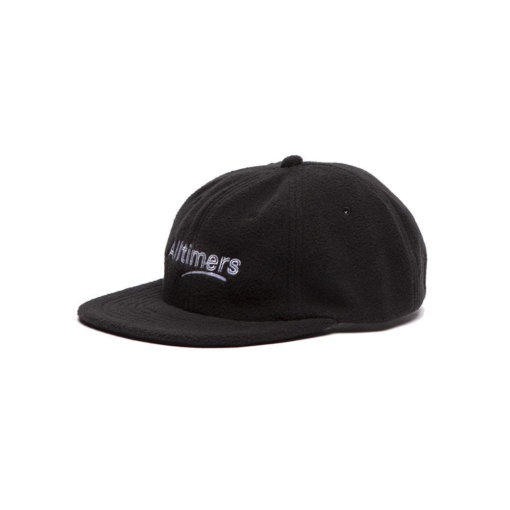 【ALLTIMERS/オールタイマーズ】FLEECY HAT キャップ / BLACK