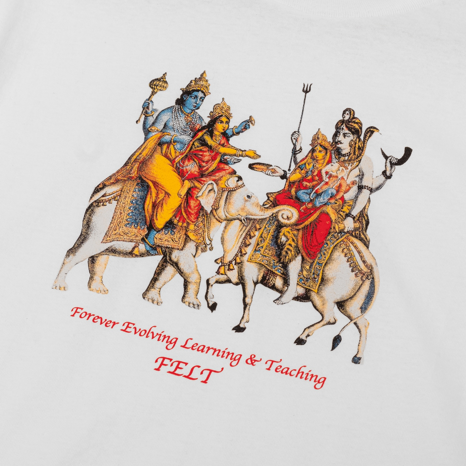【FELT/フェルト】HOLY MOUNTAIN T-SHIRT Tシャツ / WHITE