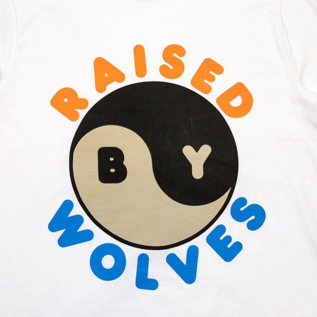 【RAISED BY WOLVES/レイズドバイウルブス】FERG-YANG TEE Tシャツ / WHITE