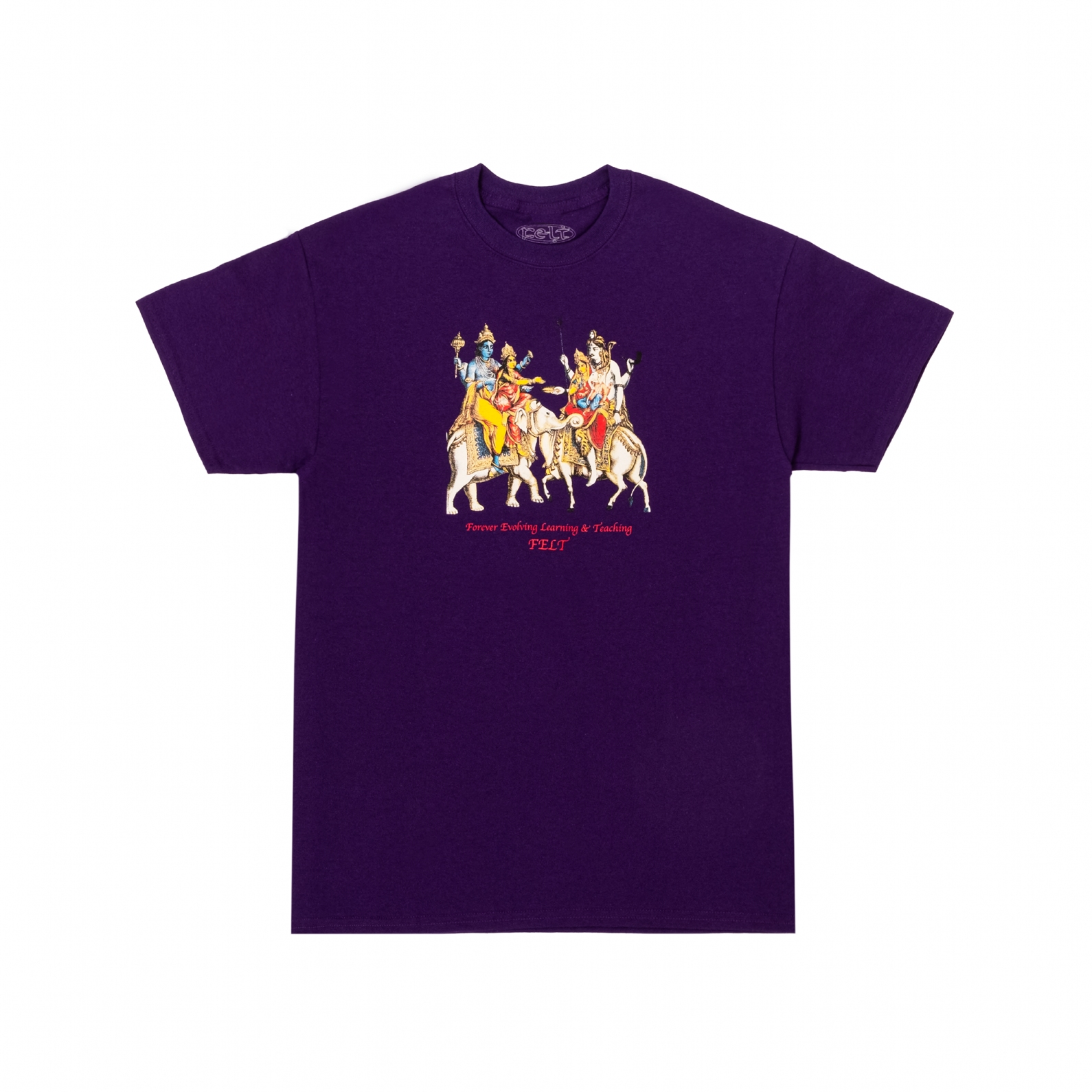 【FELT/フェルト】HOLY MOUNTAIN T-SHIRT Tシャツ / PURPLE