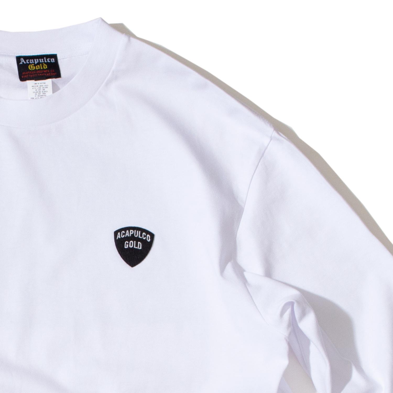 【ACAPULCO GOLD/アカプルコ ゴールド】ELLEN LS TEE ロングTシャツ / WHITE