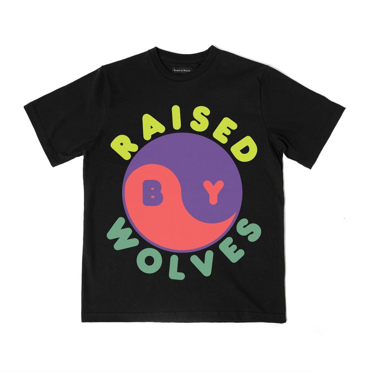【RAISED BY WOLVES/レイズドバイウルブス】FERG-YANG TEE Tシャツ / BLACK