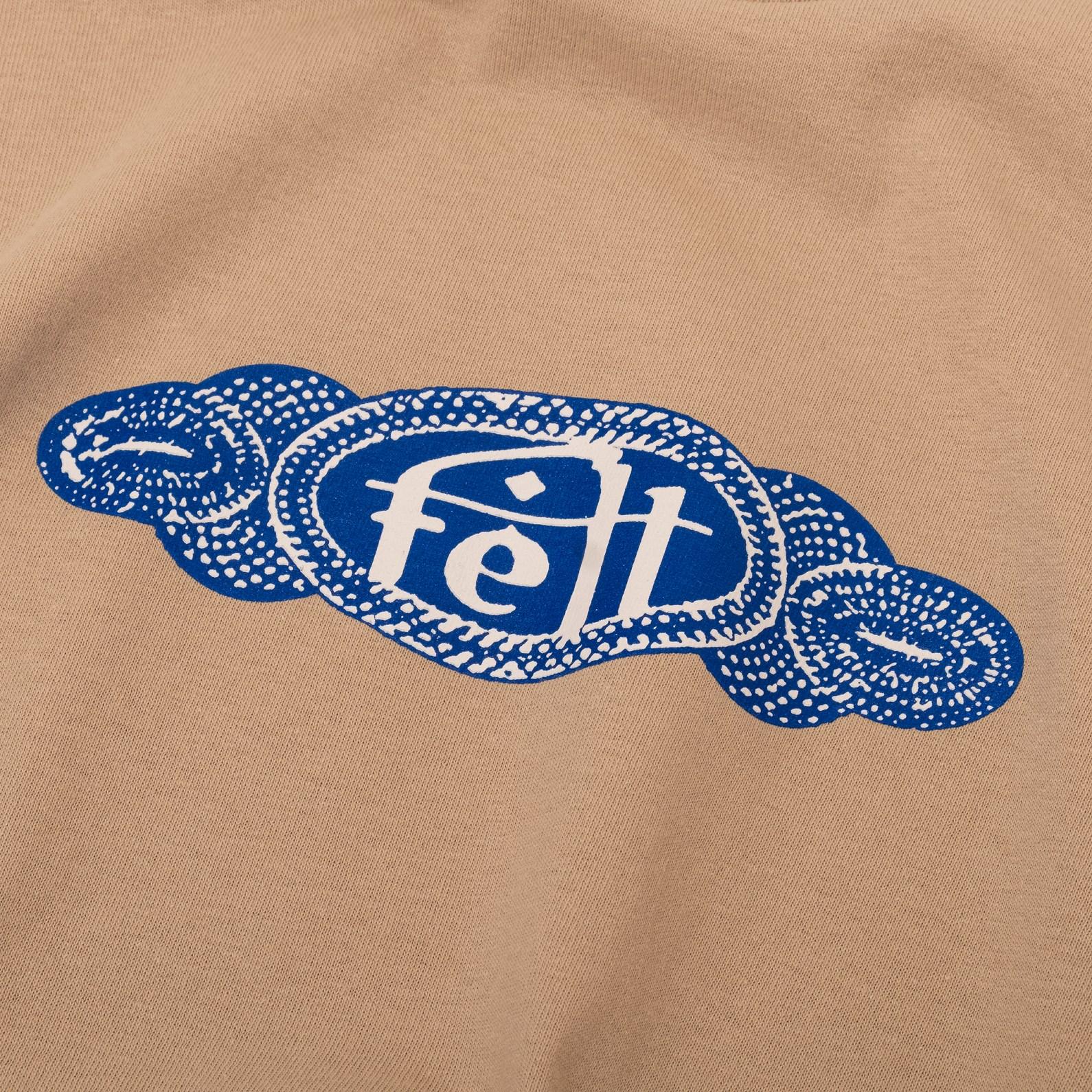 【FELT/フェルト】BLUES T-SHIRT Tシャツ / SAND