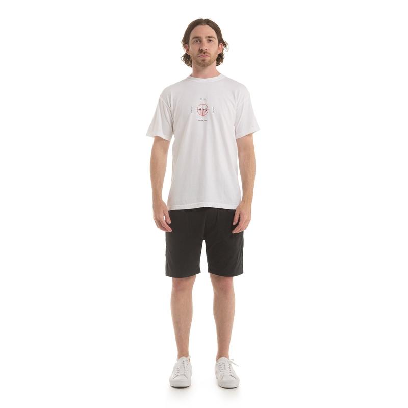【PUBLISH BRAND/パブリッシュブランド】WATCH YOUR 6 Tシャツ / WHITE
