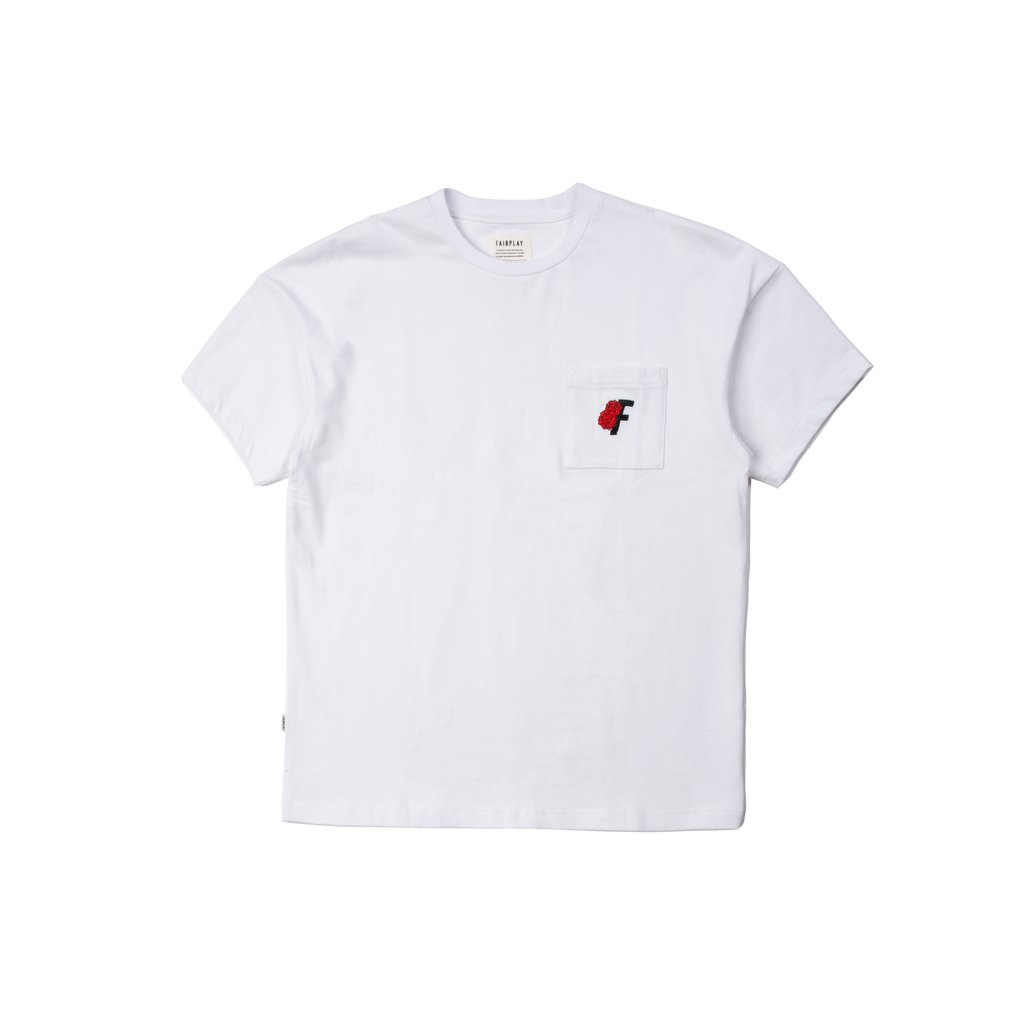 【FAIRPLAY BRAND/フェアプレイブランド】KEELY カットソーTシャツ / WHITE