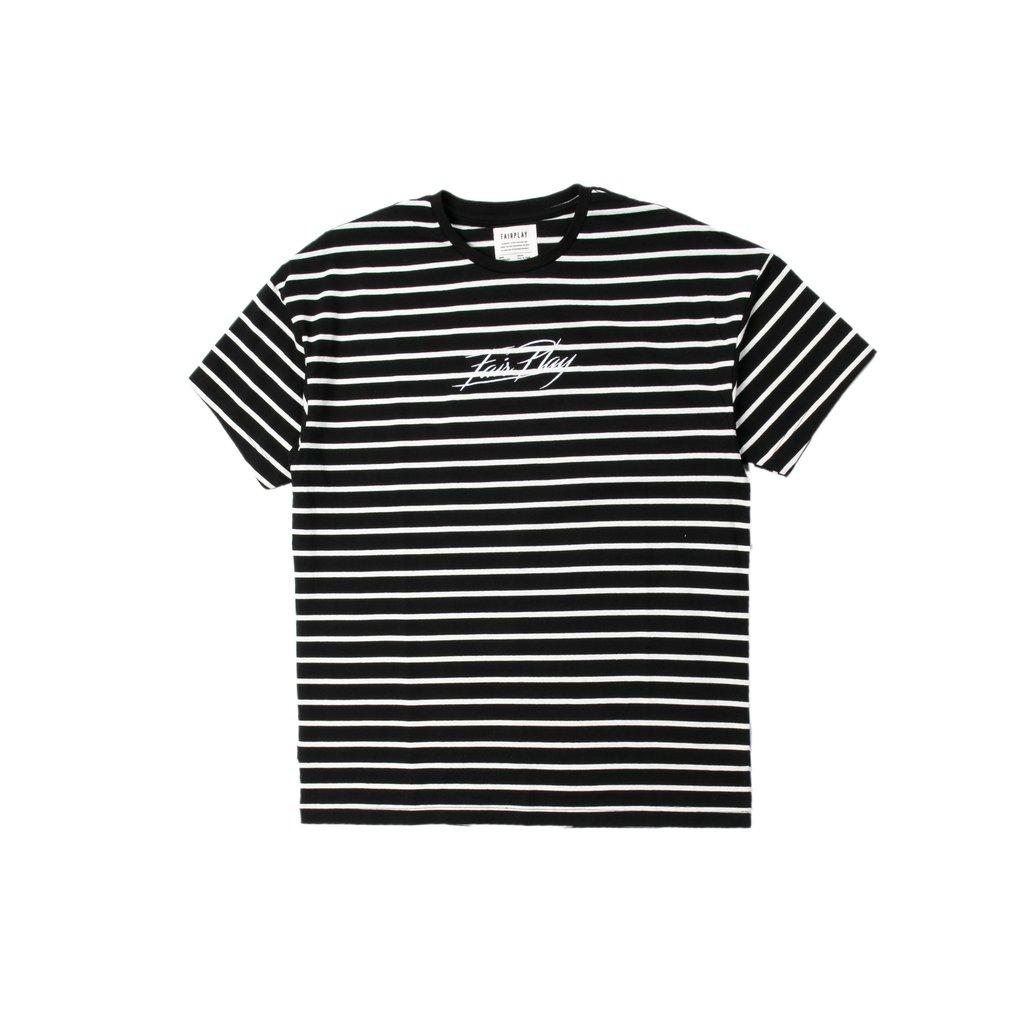 【FAIRPLAY BRAND/フェアプレイブランド】KEI カットソーTシャツ / BLACK