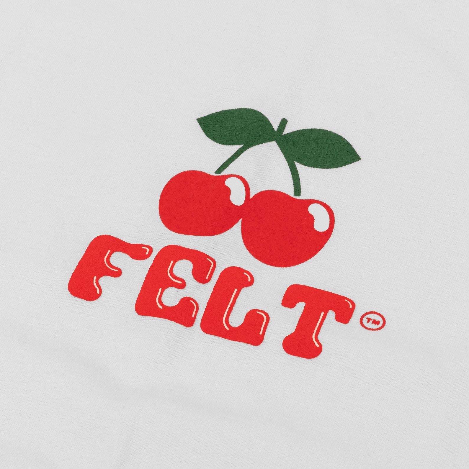 【FELT/フェルト】IBIZA T-SHIRT Tシャツ / WHITE