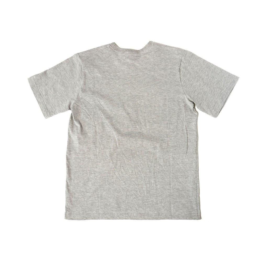 【RAISED BY WOLVES/レイズドバイウルブス】ACID LOGO TEE Tシャツ / GREY