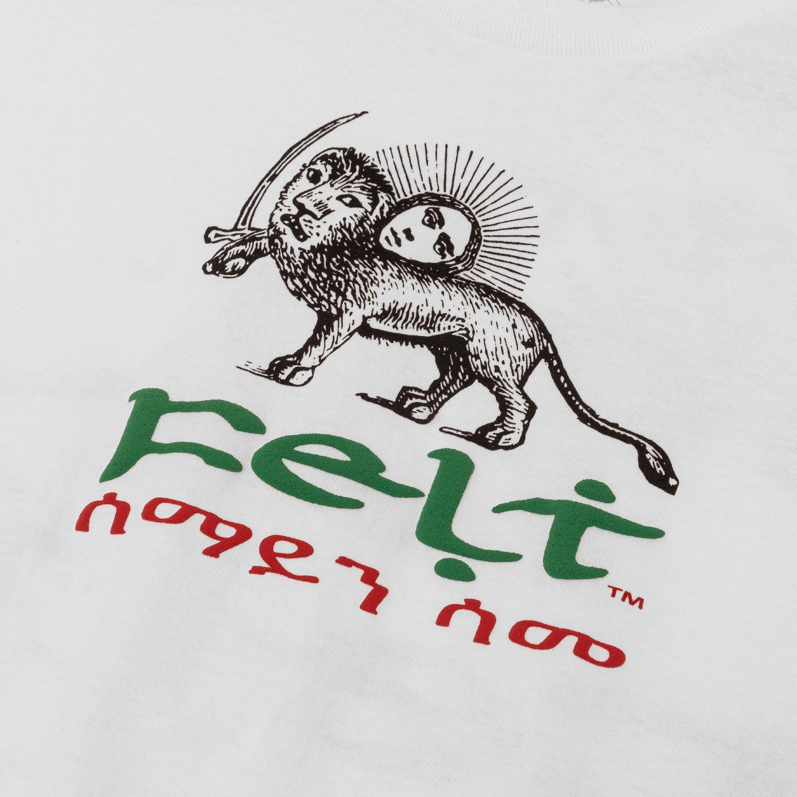 【FELT/フェルト】BUSH DOCTOR T-SHIRT Tシャツ / WHITE