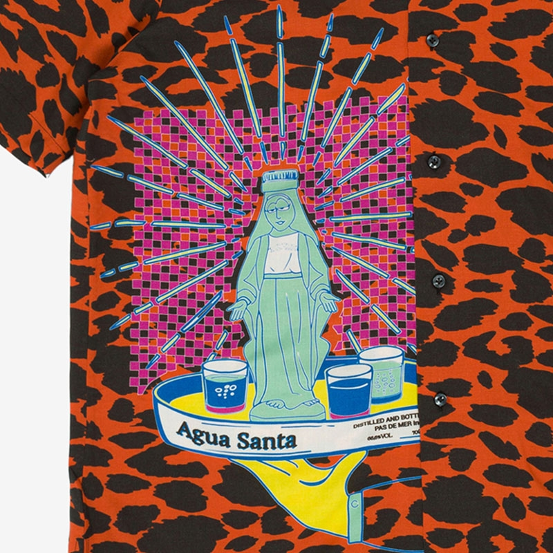【PAS DE MER/パドゥメ】AGUA SANTA SHIRT 半袖シャツ / PATTERN