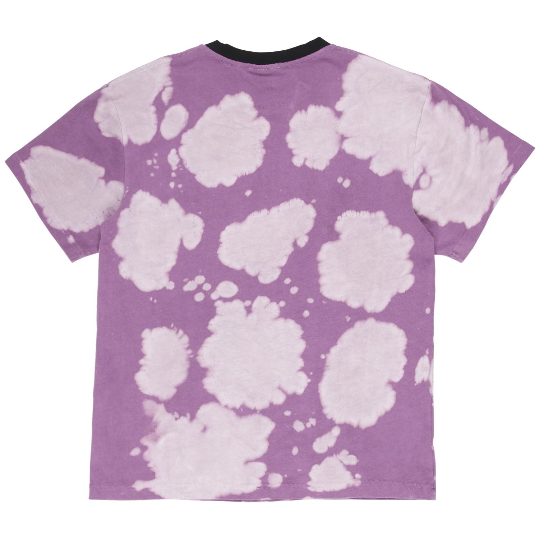 【PLEASURES/プレジャーズ】SWINGER DYE SHIRT Tシャツ / PURPLE