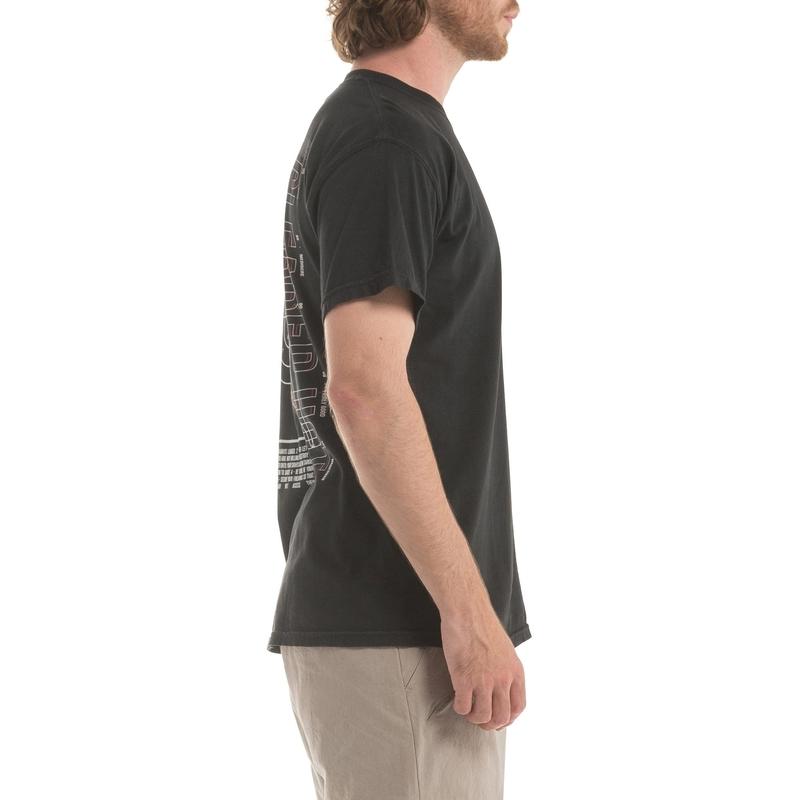 【PUBLISH BRAND/パブリッシュブランド】SAFETY FIRST Tシャツ / BLACK