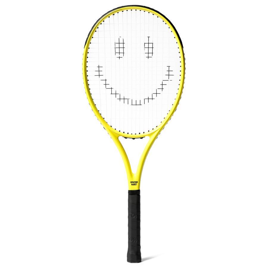 【CHINATOWN MARKET/チャイナタウンマーケット】SMILEY TENNIS RACKETS テニスラケット / YELLOW