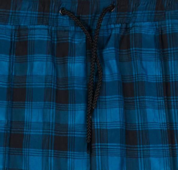 【PLEASURES/プレジャーズ】COLLUSION TRACK PANT トラックパンツ / BLACK/BLUE