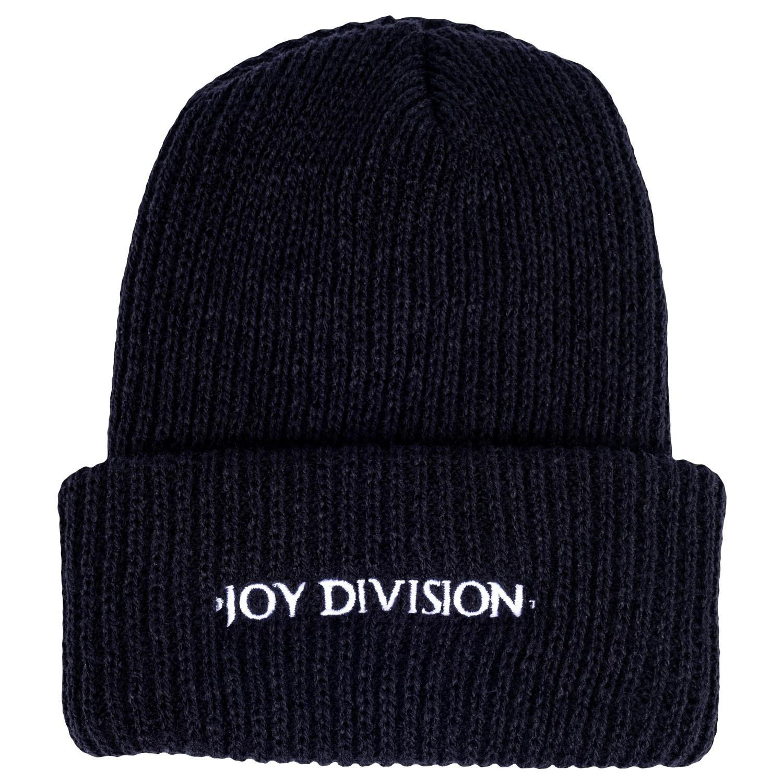 【PLEASURES/プレジャーズ×JOY DIVISION/ジョイ・ディヴィジョン】PLEASURE JD BEANIES ニット帽 / BLK
