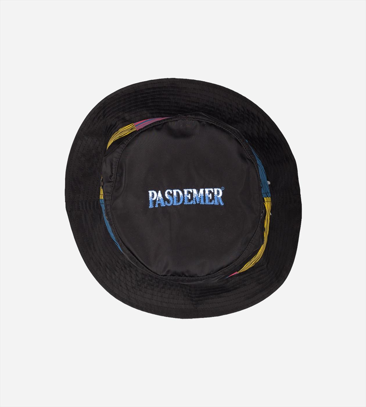 【PAS DE MER/パドゥメ】TIGER BUCKET バケットハット / BLACK