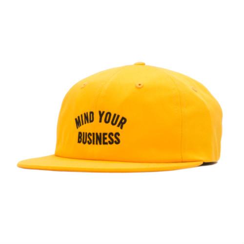 【ACAPULCO GOLD/アカプルコ ゴールド】MYB 6 PANEL CAP ストラップバックキャップ / YELLOW