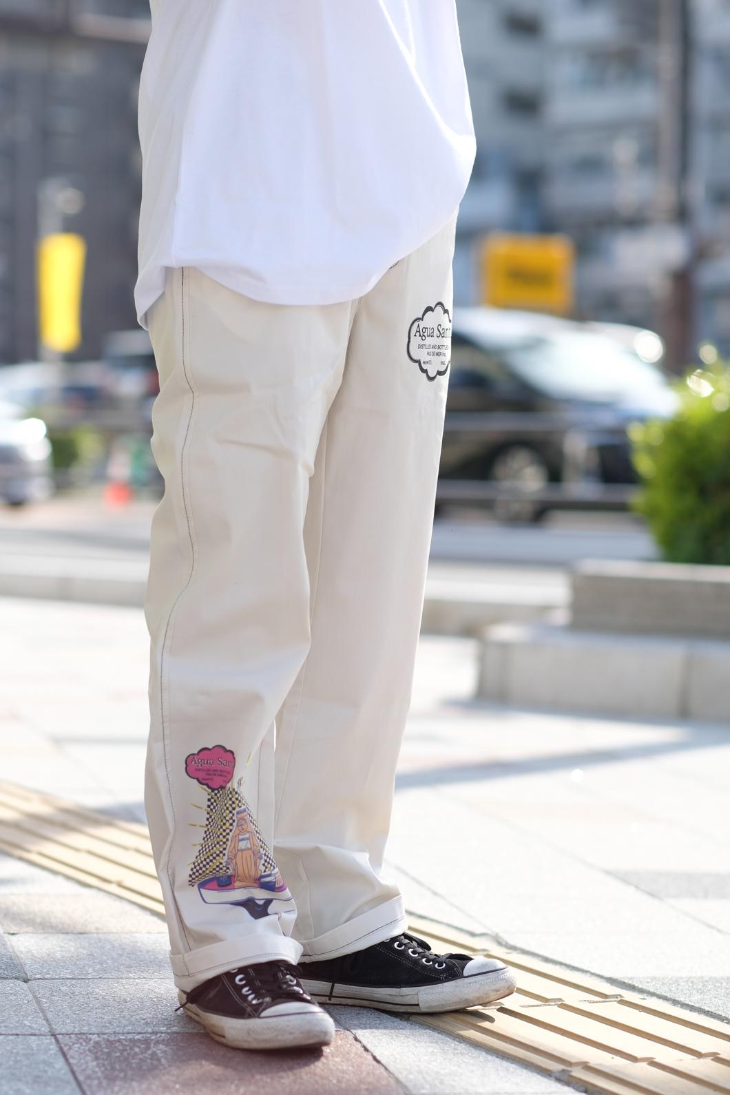 【PAS DE MER/パドゥメ】AGUA SANTA PANTS パンツ / NATURAL