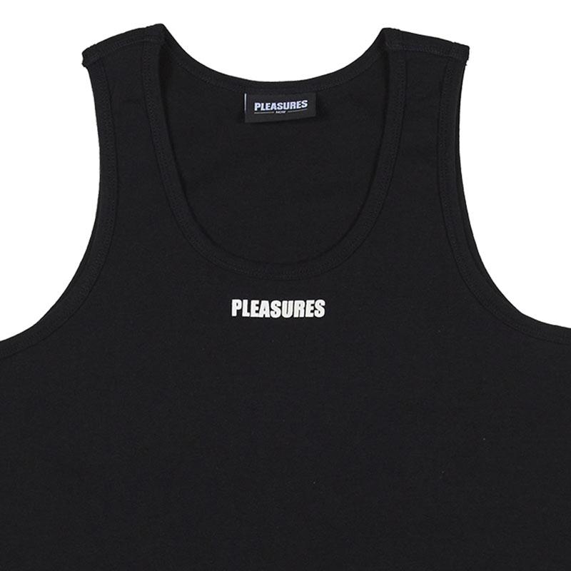 【PLEASURES/プレジャーズ】STANDARD TANK TOP - 2 PACK タンクトップ / BLACK / WHITE