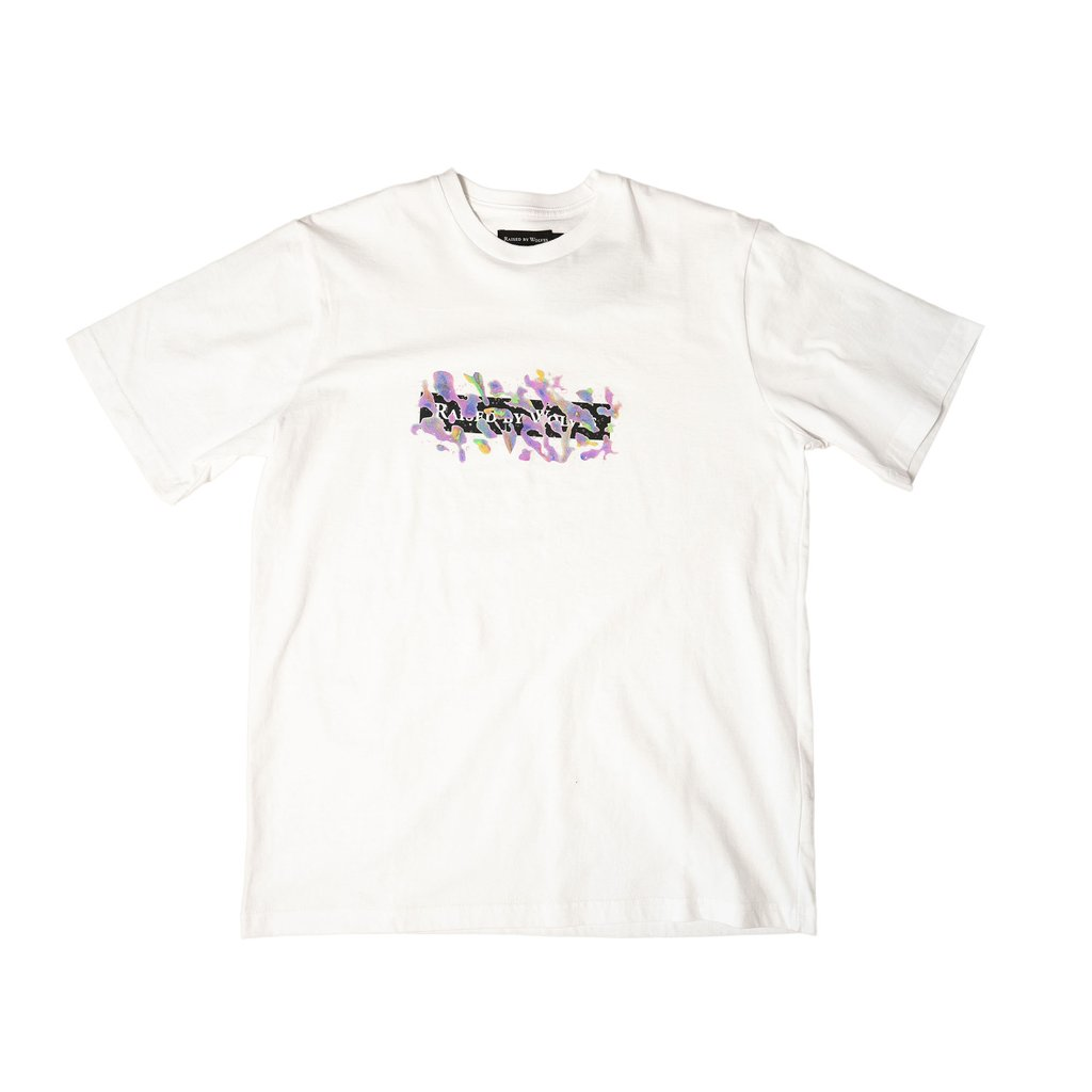 【RAISED BY WOLVES/レイズドバイウルブス】CAR WASH TEE Tシャツ / WHITE