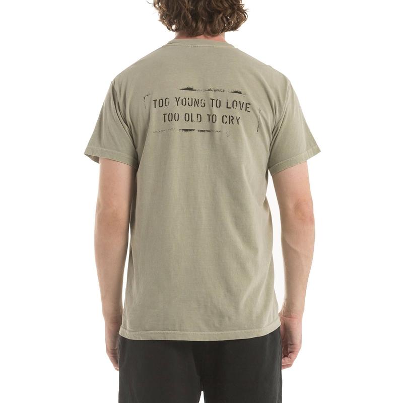【PUBLISH BRAND/パブリッシュブランド】STENCIL Tシャツ / SAND