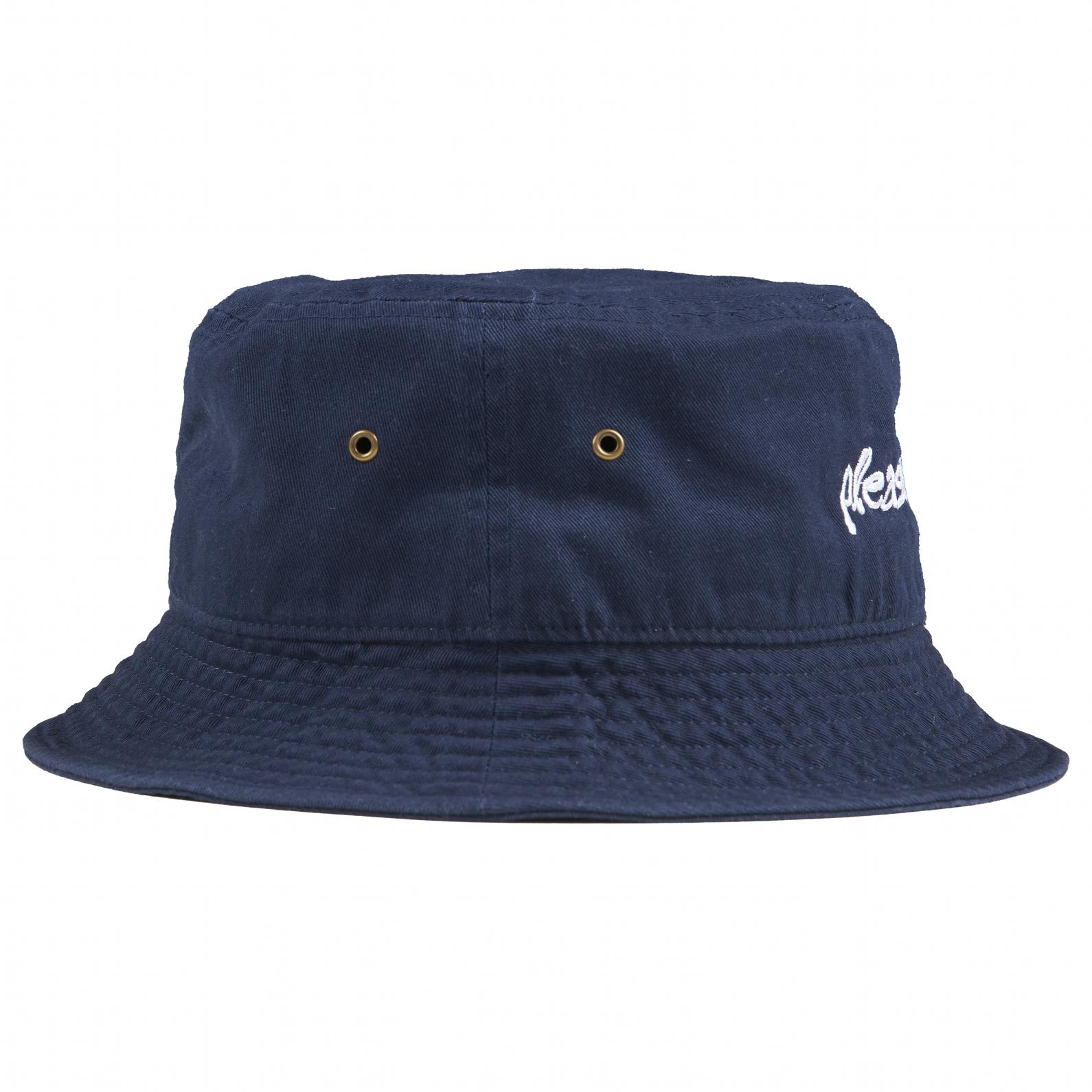 【PLEASURES/プレジャーズ】HYDE LOGO BUCKET HAT バケットハット / NAVY
