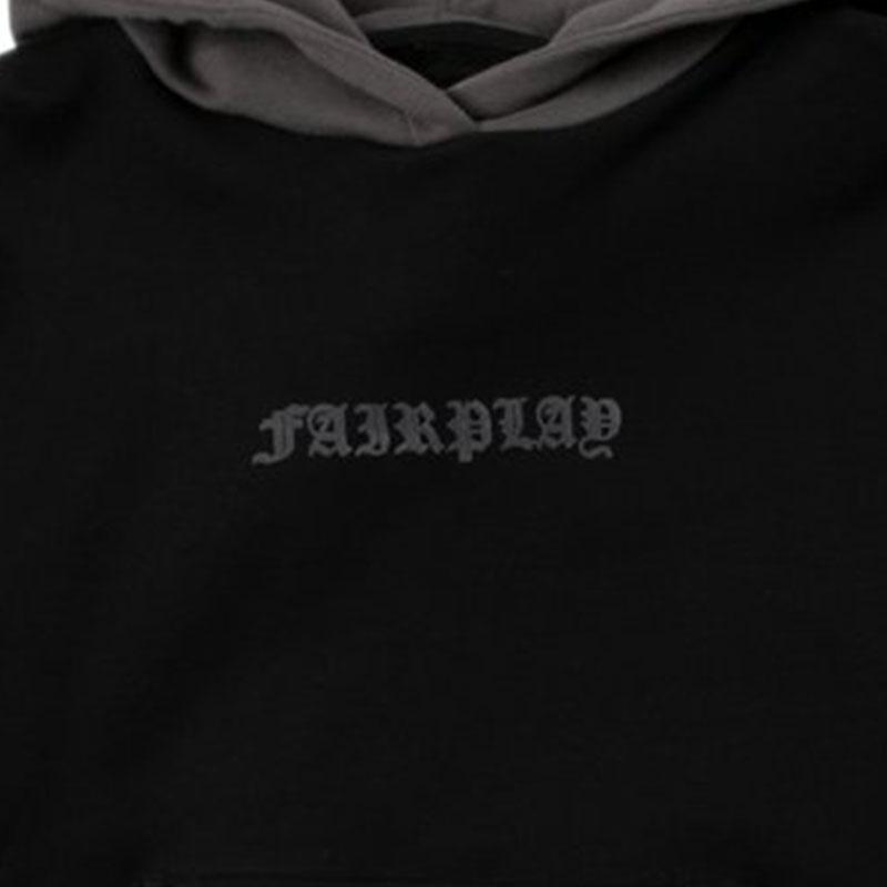 【FAIRPLAY BRAND/フェアプレイブランド】GIAN パーカー / BLACK