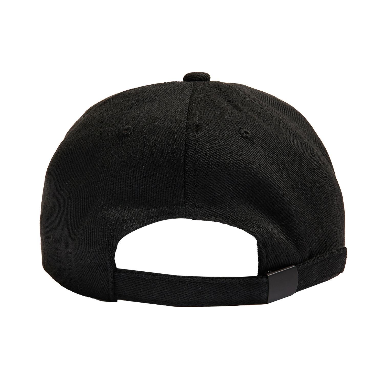 【PLEASURES/プレジャーズ】GOOD TIME UNCONSTRUCTED HAT キャップ / BLACK