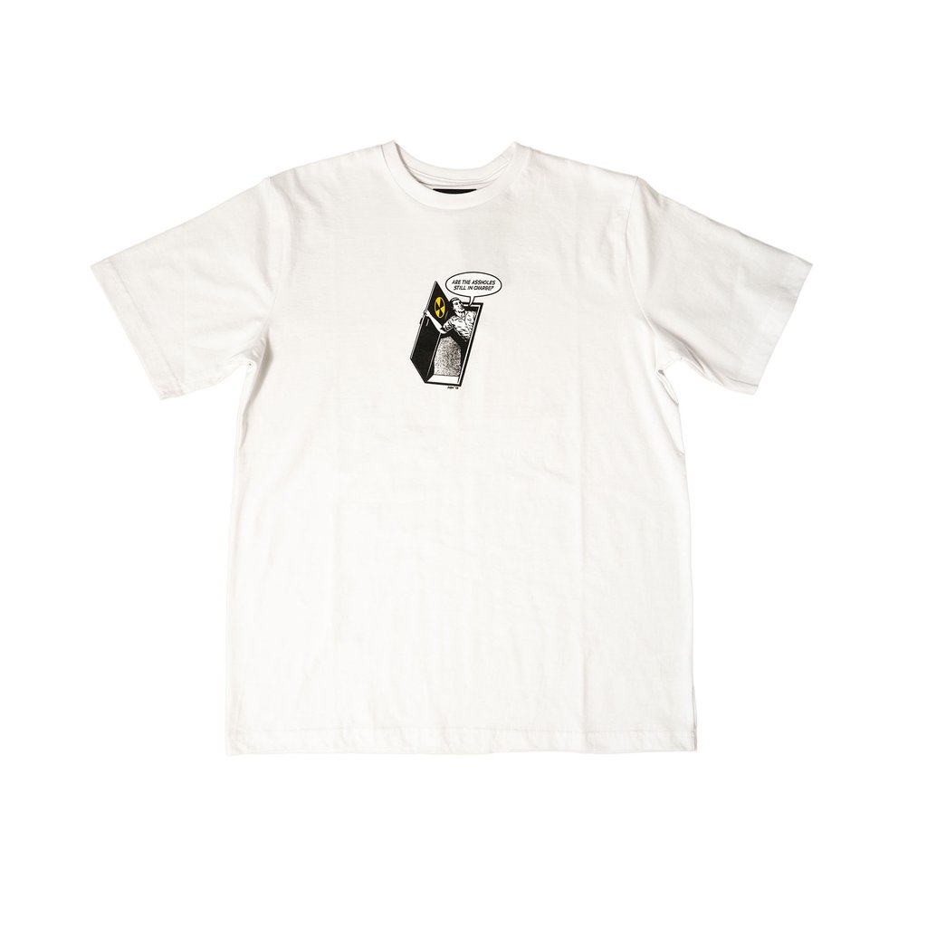【RAISED BY WOLVES/レイズドバイウルブス】BUNKER TEE Tシャツ / WHITE