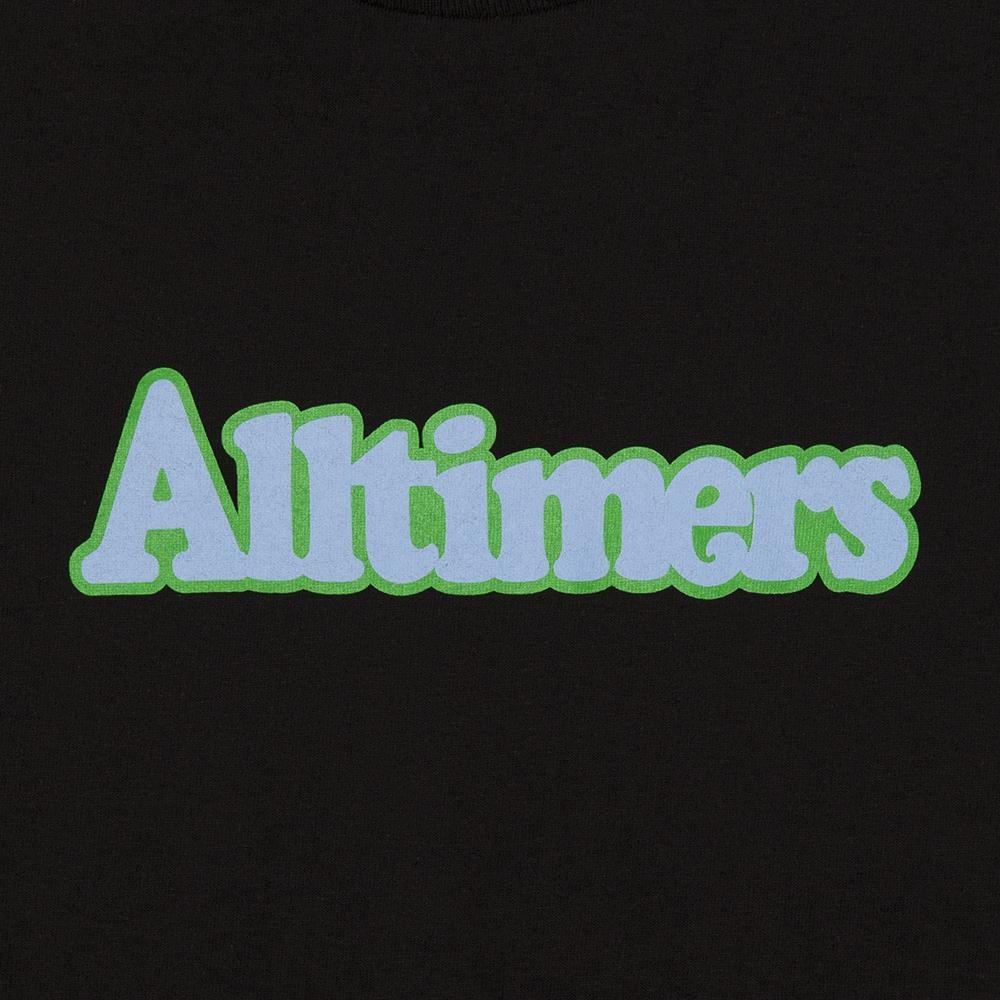 【ALLTIMERS/オールタイマーズ】BROADWAY TEE Tシャツ / BLACK