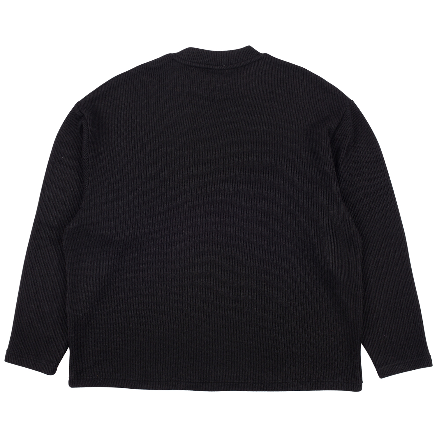 【PLEASURES/プレジャーズ】FRESNO KNIT LONG SLEEVE セーター / BLACK