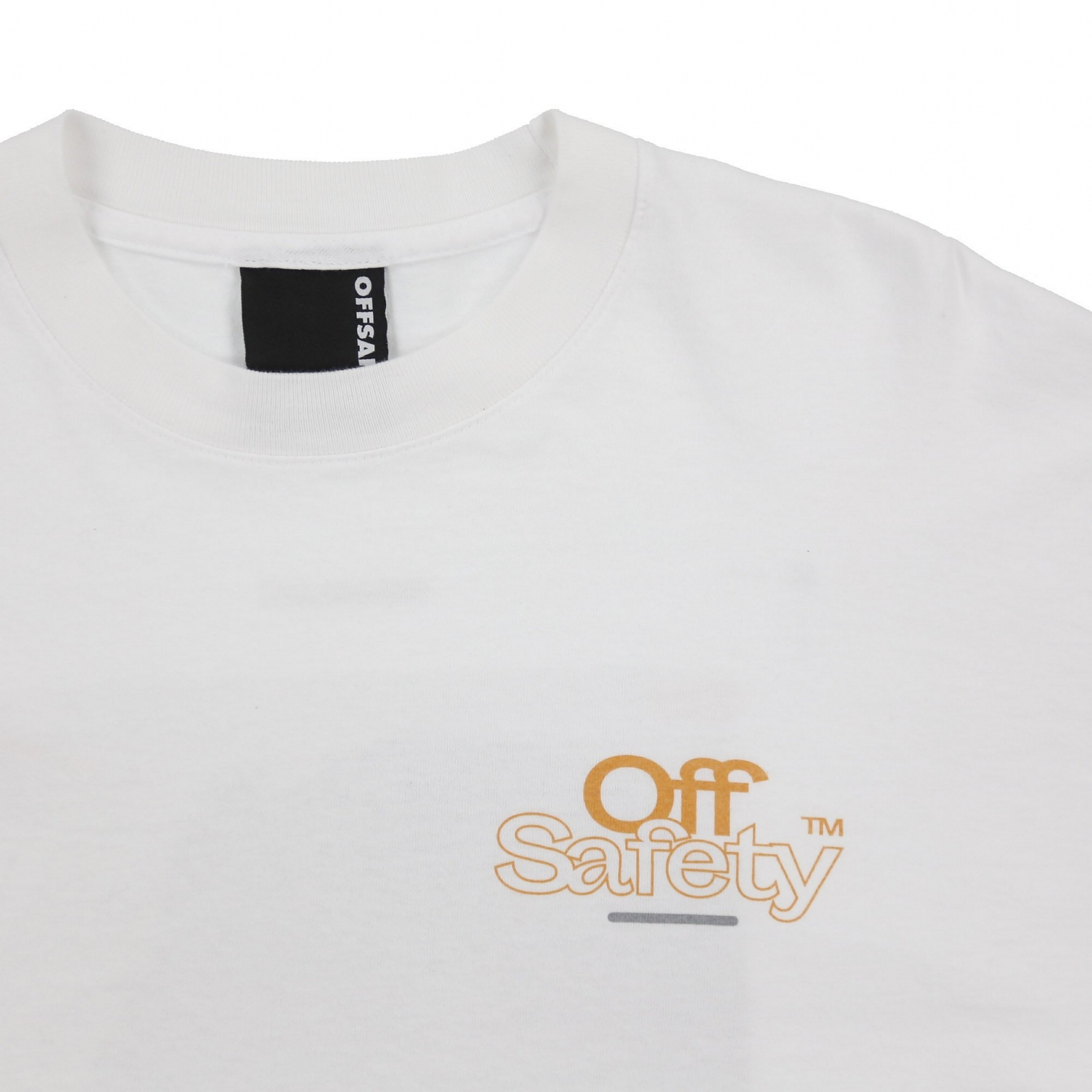 【OFF SAFETY/オフセーフティー】GUIDE LINES LS TEE 長袖Tシャツ / WHITE