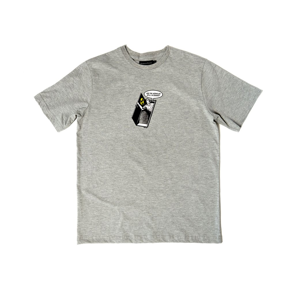 【RAISED BY WOLVES/レイズドバイウルブス】BUNKER TEE Tシャツ / GREY