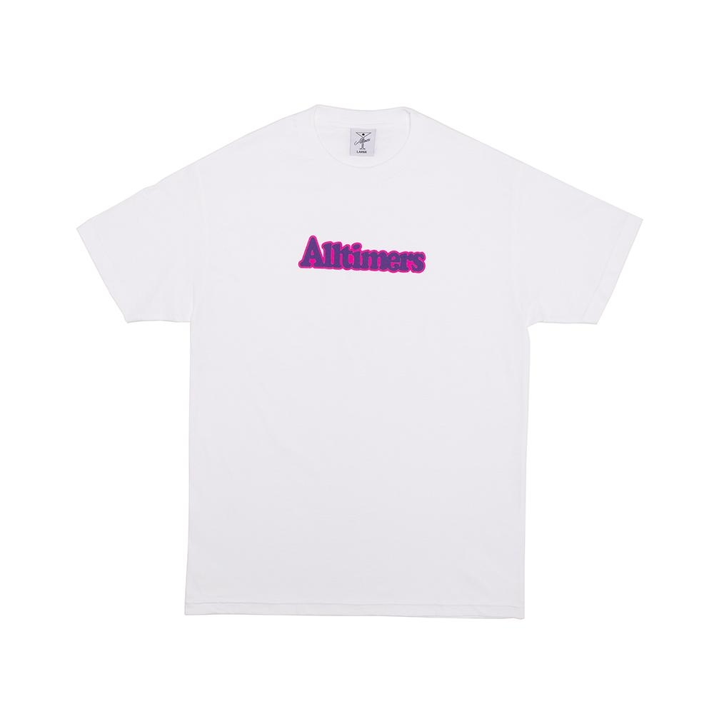 【ALLTIMERS/オールタイマーズ】BROADWAY TEE Tシャツ / WHITE