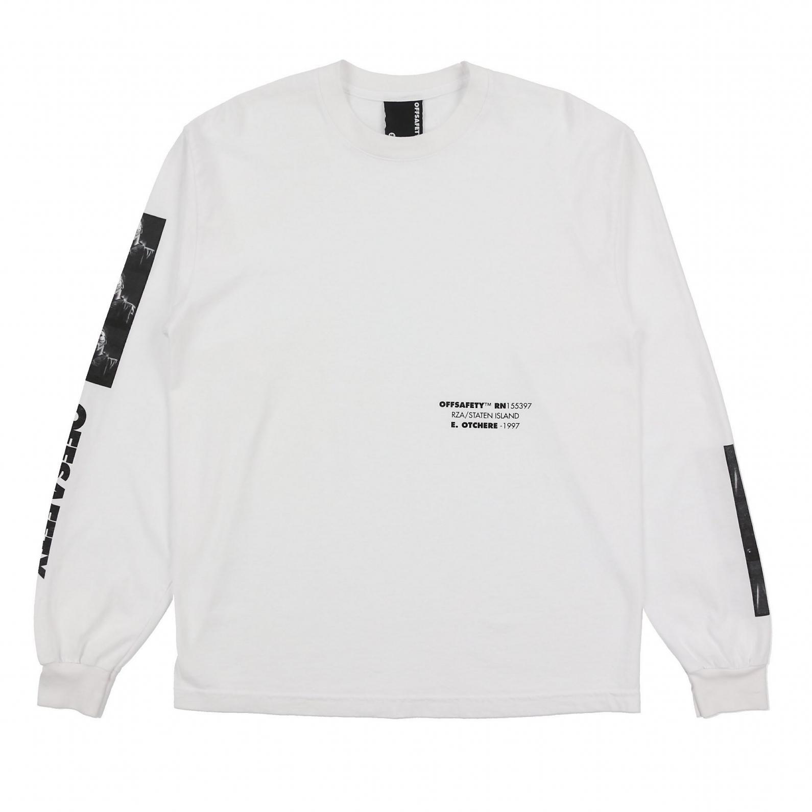 【OFF SAFETY/オフセーフティー】TRANSFORM LS TEE 長袖Tシャツ / WHITE