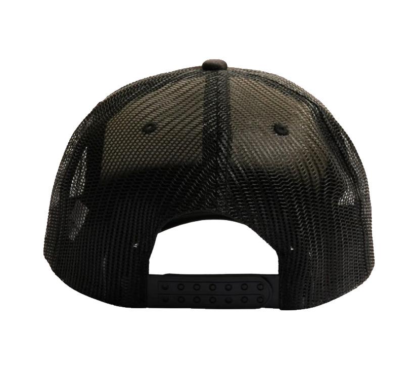【PLEASURES/プレジャーズ】VIBRATION MESH TRUCKER CAP キャップ / BLACK