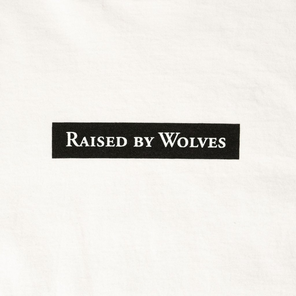 【RAISED BY WOLVES/レイズドバイウルブス】BEASTS TEE Tシャツ / WHITE