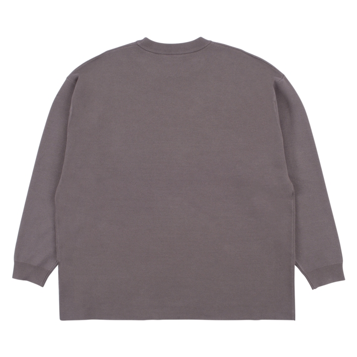 【PLEASURES/プレジャーズ】MONA KNIT SWEATER セーター / CHARCOAL