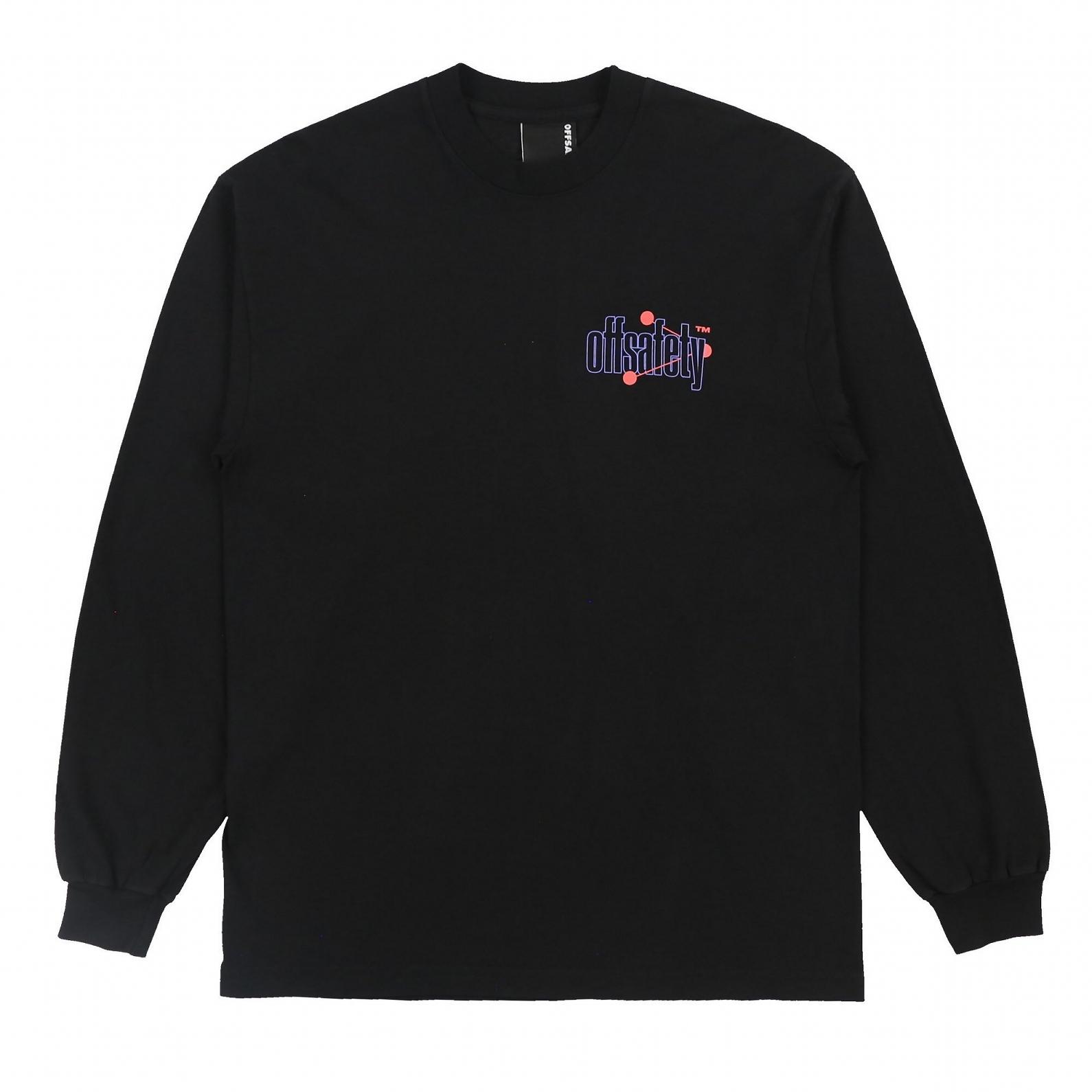 【OFF SAFETY/オフセーフティー】PURPLE PILL LS TEE 長袖Tシャツ / BLACK