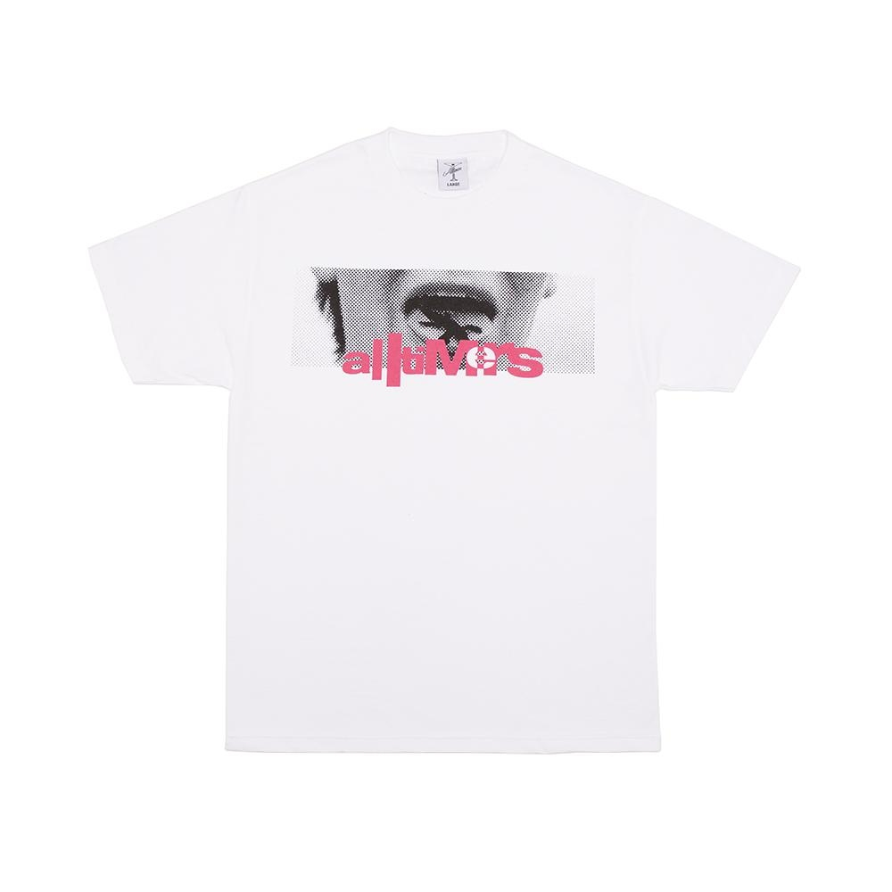 【ALLTIMERS/オールタイマーズ】LIZZY TONGUE TEE Tシャツ / WHITE