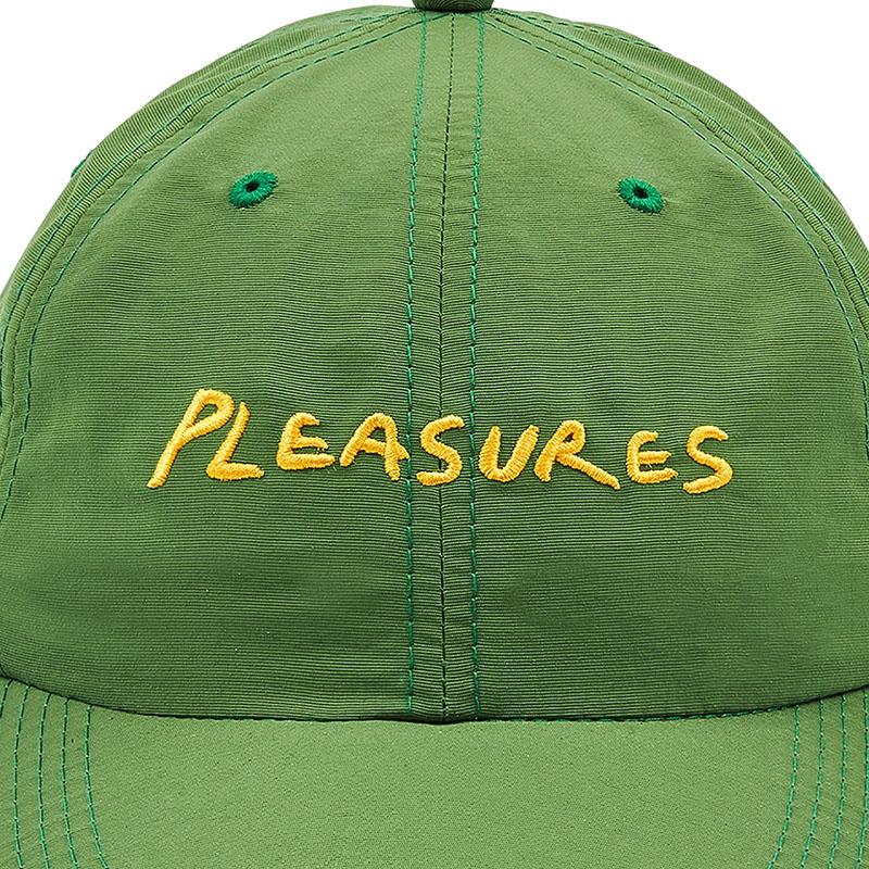 【PLEASURES/プレジャーズ】HUMP NYLON SPORT CAP キャップ / GREEN
