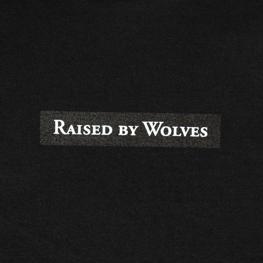 【RAISED BY WOLVES/レイズドバイウルブス】BEASTS TEE Tシャツ / BLACK