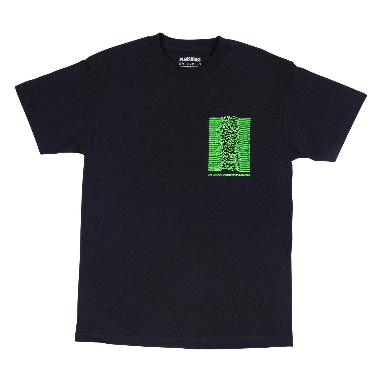 【PLEASURES/プレジャーズ×JOY DIVISION/ジョイ・ディヴィジョン】UP T-SHIRT Tシャツ / BLK