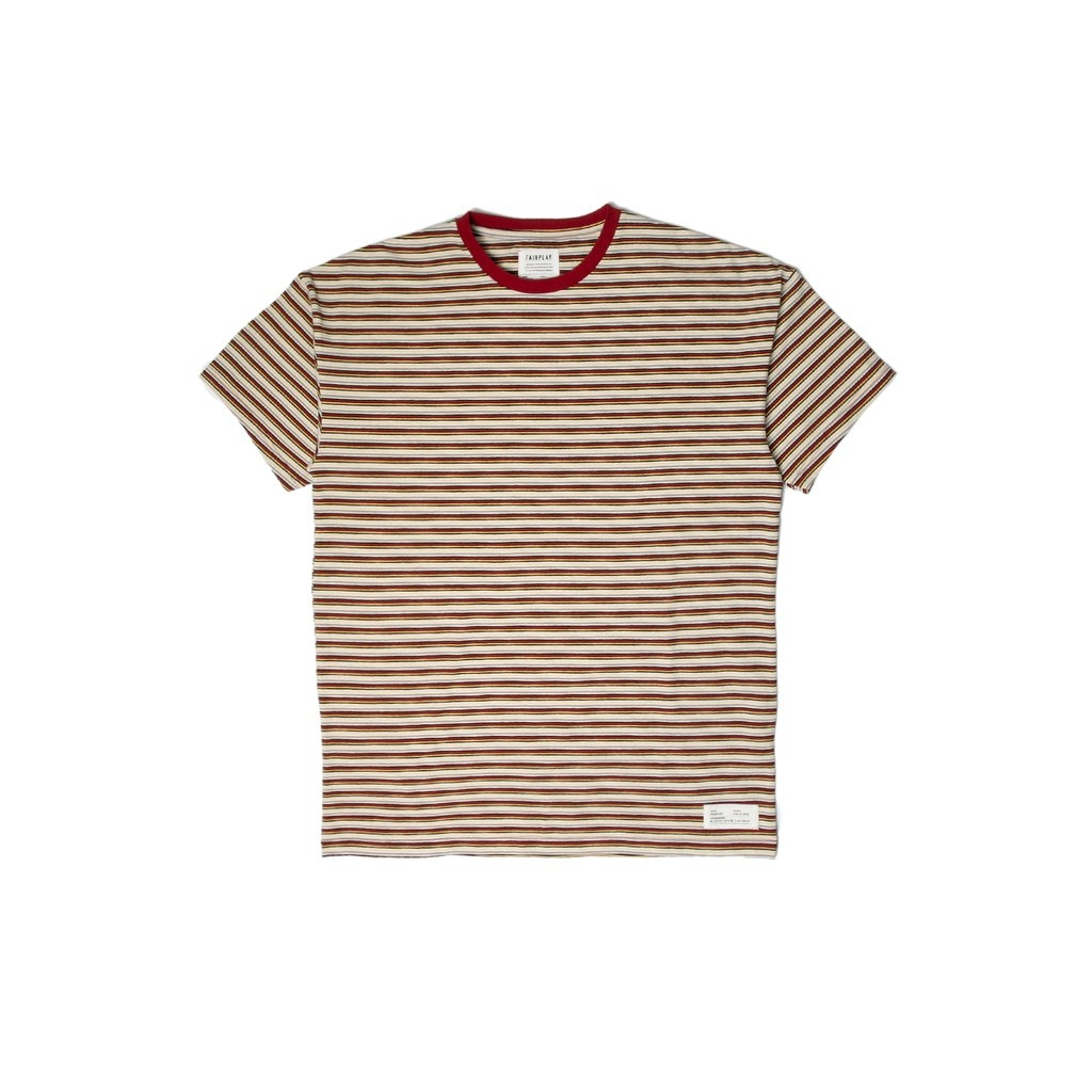 【FAIRPLAY BRAND/フェアプレイブランド】GALLO カットソーTシャツ / RED